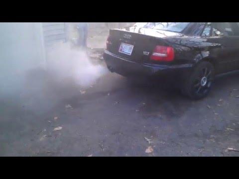 Seafoam  Smoke show Audi A4 1.8T prt2