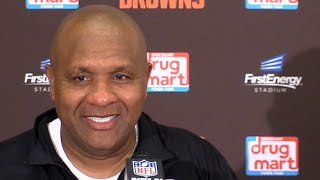 Browns win! Hue Jackson on Baker Mayfield and beating Jets