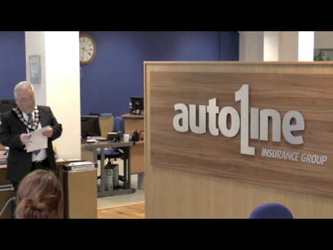 Autoline Insurance, Ballymena Branch Official Opening