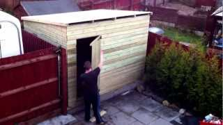 Shed Erection Time Lapse