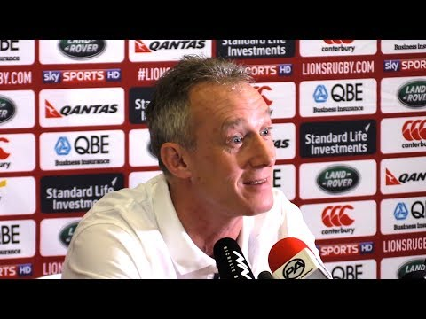 Rob Howley Full Pre-Match Press Conference - New Zealand v Lions - Third Test