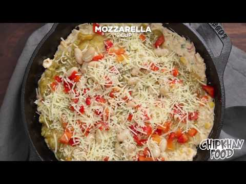 How to Cook Skillet White Chicken Chili Dip