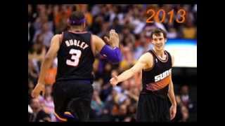 Phoenix Suns all uniforms 1968-2013