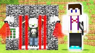 UWIĘZILIŚMY MORDERCE W KLATCE! - Minecraft Murder Mystery