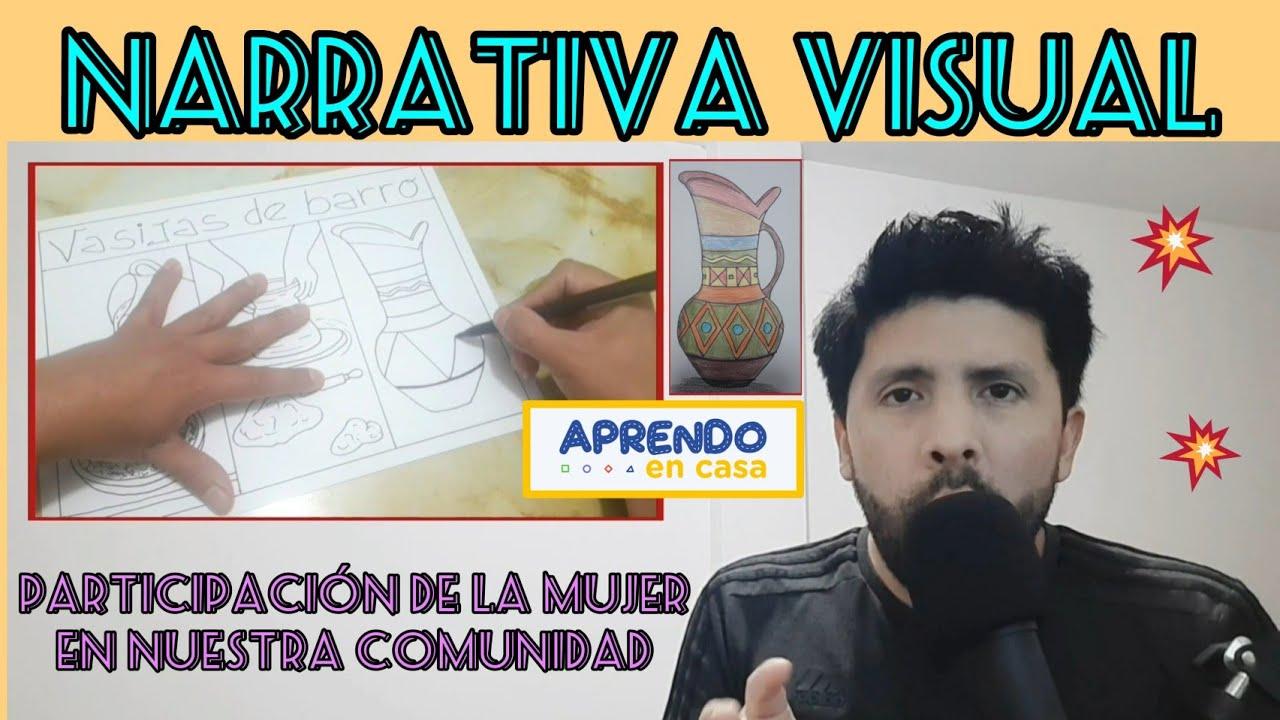 Narrativa Visual / Explicación y 2 ejemplos / Aprendo En Casa