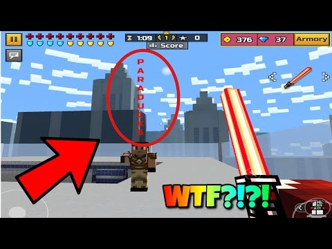 How To Make Your Name Stand/Glitch In Pixel Gun 3D! (No Jailbreak) [WORKING] 2017