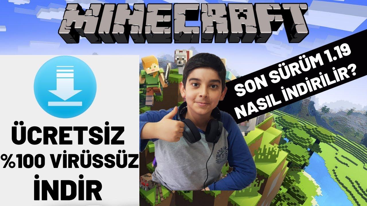100 Virussuz Ve Ucretsiz Minecraft Nasil Indirilir Youtube