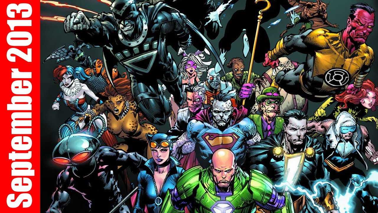 Forever Evil 1, Mighty Avengers 1, Sex Criminals 1 -3661