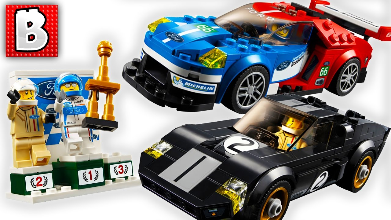 Lego  Ford Gt  Ford Gt  Live Build Speed Champions Set Brickvault Live