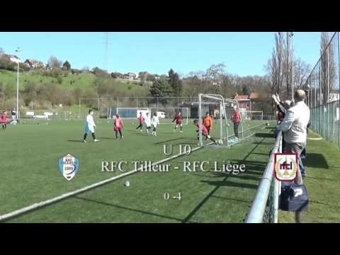 U 10 FC Tilleur - RFC Liège  1- 5