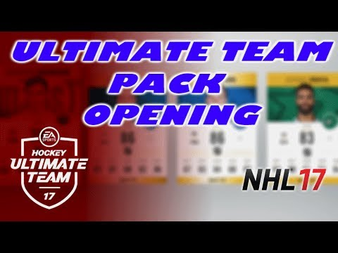 NHL 17 HUT Episode 38 - MAY DAY REWARD PACK OPENING - NHL 17 Pack Opening Reactions