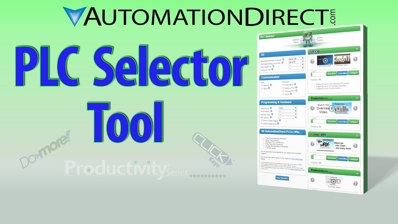 Best PLC Hardware Selector Tool: Control Systems Selection Made Easy