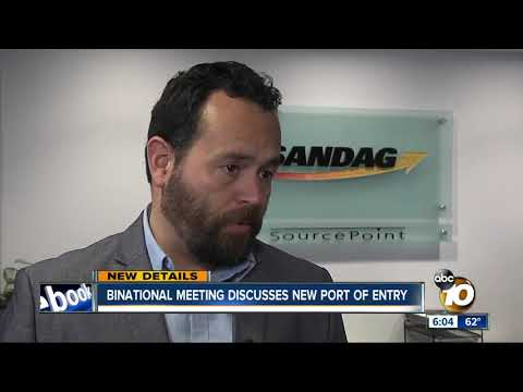 Binational meeting discusses plans for new port of entry
