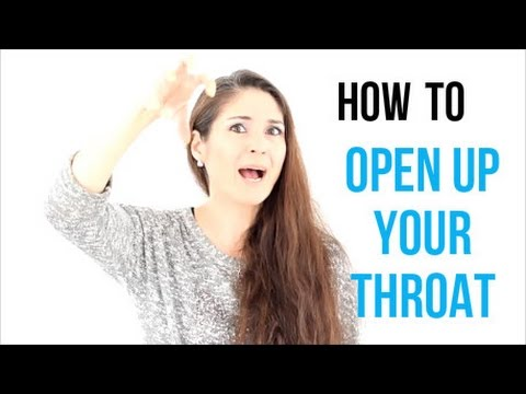 how to train your throat for singing