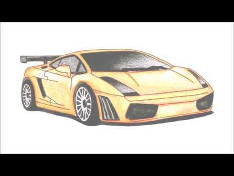 9943eac5f65 Como desenhar ferrari - YouTube