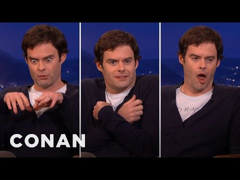 Bill Hader's SNL Cast Impressions   CONAN on TBS