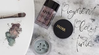 Pigment Play Time! | How to Use Loose Eyeshadows & Pigments