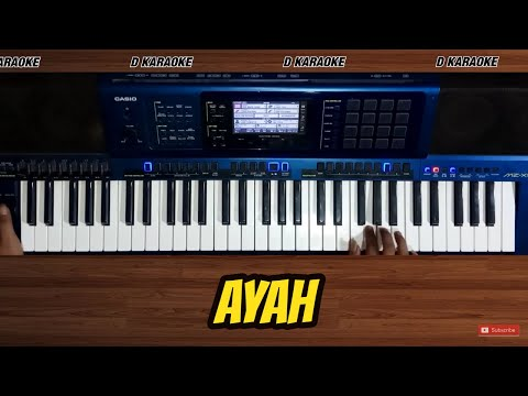 Karaoke lagu Ayah (Tasya Rosmala) Nada Cowok, link download mp3 ada di deskripsi