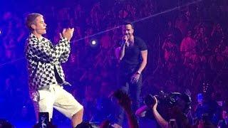 Justin Bieber -Luis Fonsi LIVE DESPACITO 18/04/2017 -
