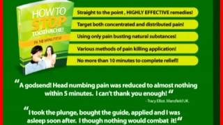 How To Stop Toothache In 10 Minutes Review and also bonus