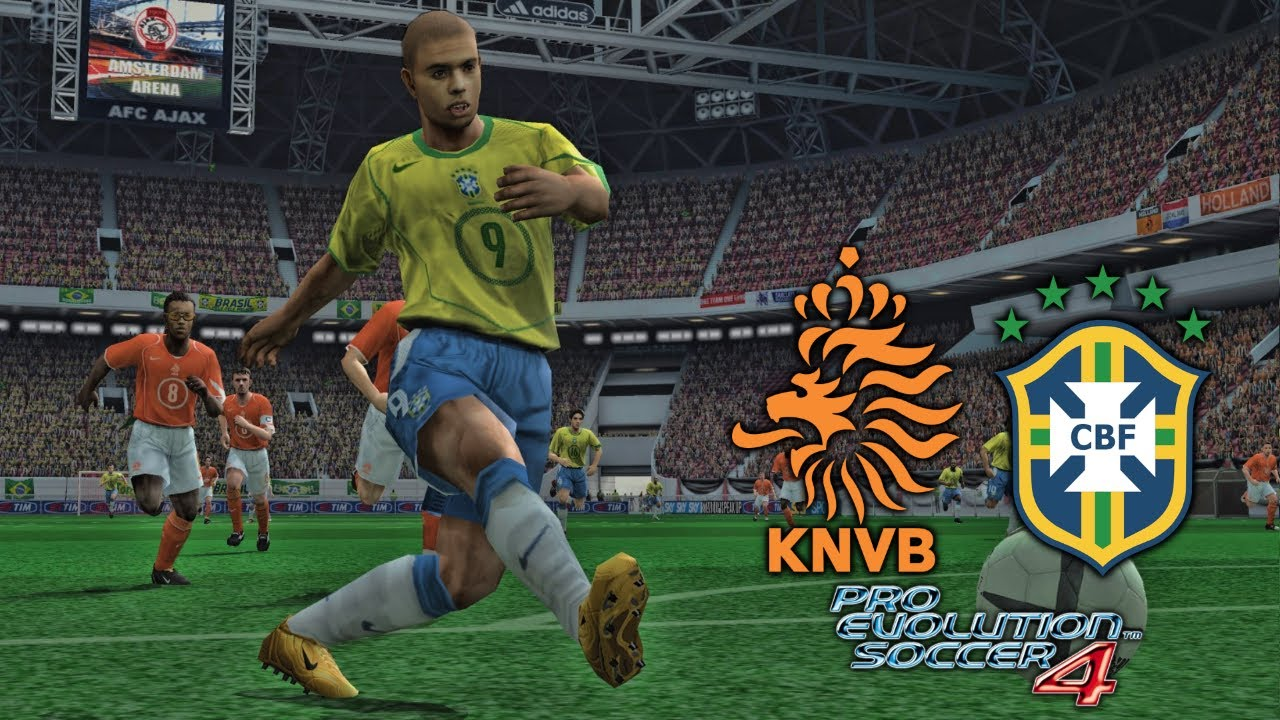 5 Minutes of Football: PES 4 - Netherlands v Brazil!