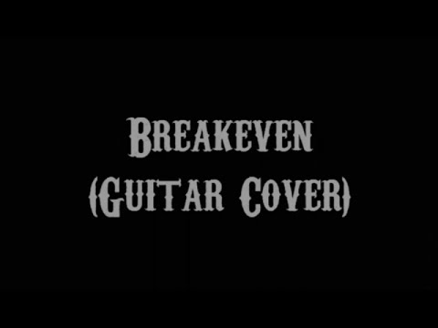 Breakeven - The Script (Guitar Cover With Lyrics & Chords)