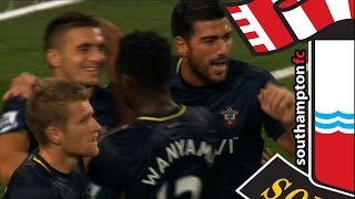 GOALS: Arsenal 1-2 Southampton (Capital One Cup Round 3)