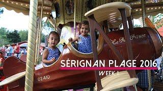 Sérignan Plage 2016, weekvlog 1 || NathalieSchijven.nl || VLOG #21
