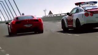 超速衝燈? GTR警車追截可疑車 - 有如Need For Speed 真實版