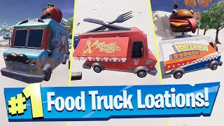Visit Different Food Trucks Locations - Fortnite (Remedy vs Toxin Challenge)