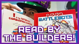 B Is for BattleBots // Kid's Book Read by Your Favorite Builders!
