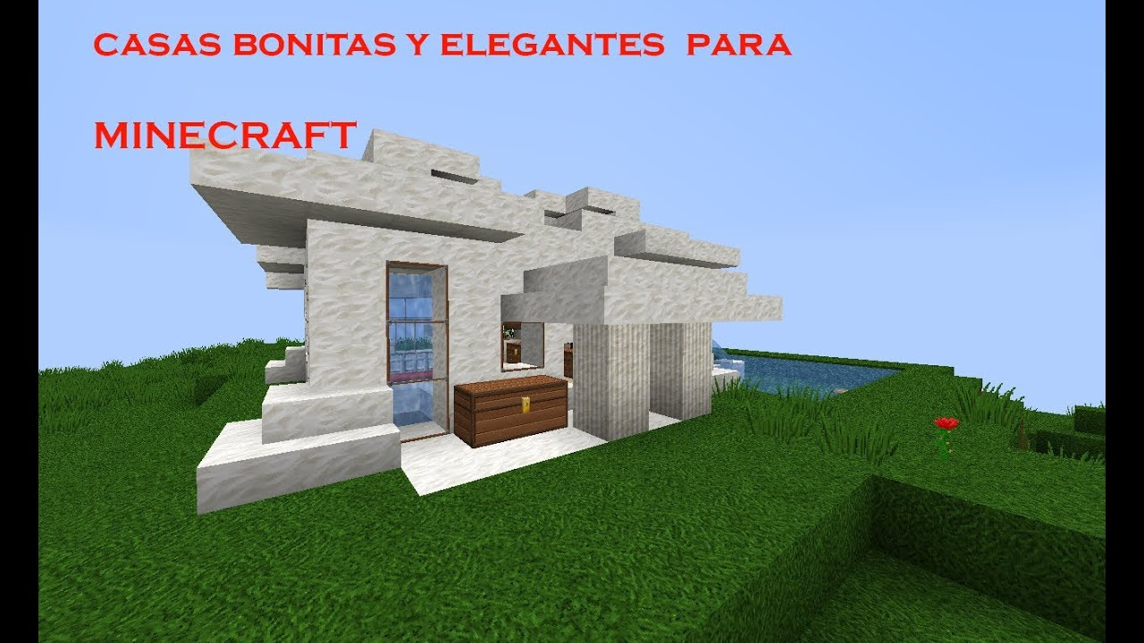 Casas modernas para minecraft youtube for Casas modernas para minecraft