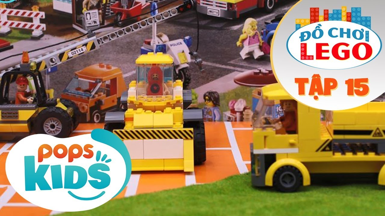 Đồ Chơi Lego – Tập 15 – Avengers Xây Dựng Bảo Tàng | Toys Review