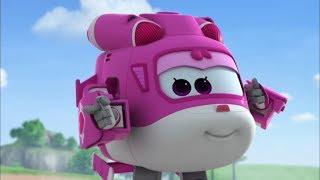 Супер Крылья Джетт и его друзья - мультфильмы про самолёты трансформеры для детей - все серии