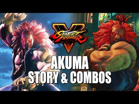 AKUMA STORY & COMBOS: Street Fighter 5 - Season 2