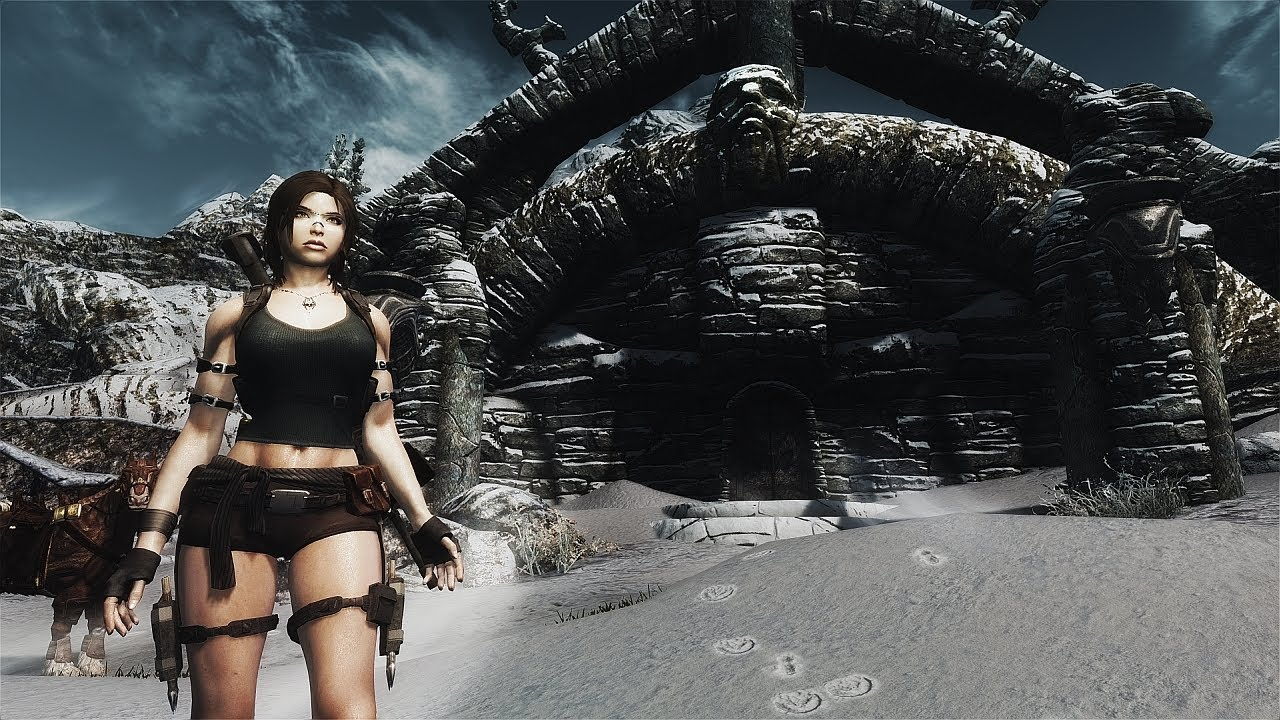 tomb raider at Skyrim Special Edition Nexus - Mods and