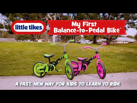 Little Tikes | My First Balance-to-Pedal Bike Commercial
