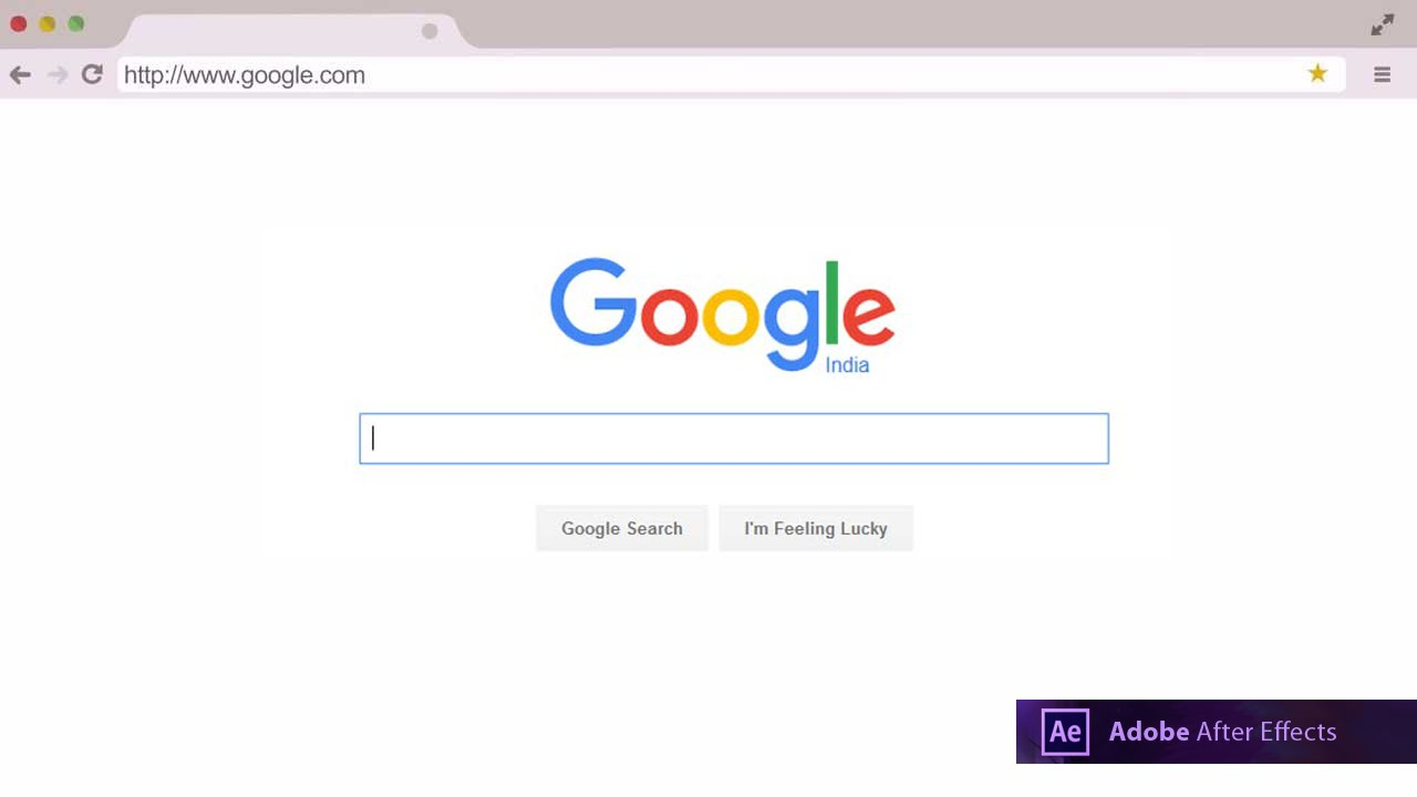 google search intro template