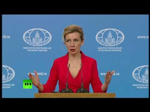 Захарова сравнила заявление Киева о визах для россиян с