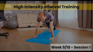 HIIT - Week 9&10 Session 1 (mHealth)