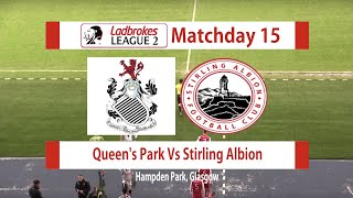Queen's Park Vs Stirling Albion Highlights 08/12/18