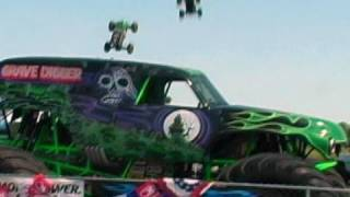 RC Truck X2 dvd~ HPI Savages Jump Grave Digger!!!!