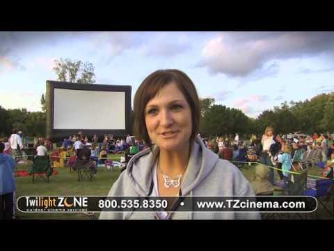 We Love Outdoor Movie Screen Events!