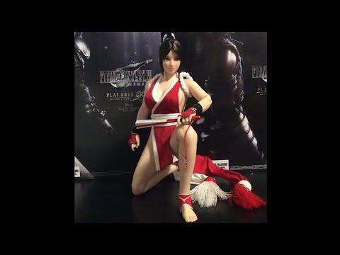 "1//6 Mai Shiranui Head Sculpt King Of Fighter For 12/"" PHICEN Female Figure U.S.A."
