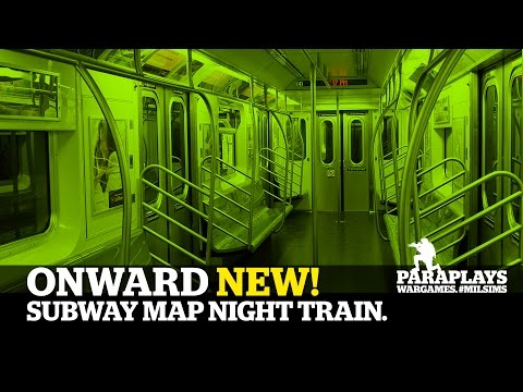 ONWARD ► NEW SUBWAY MAP - Walk Around.