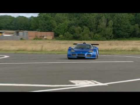 Gumpert Apollo Top Gear Lap - YouTube