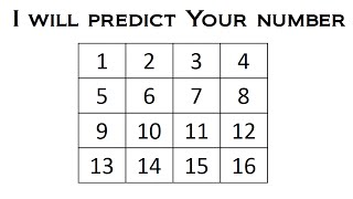 I Will Predict Y๐ur Number - Math Magic Trick