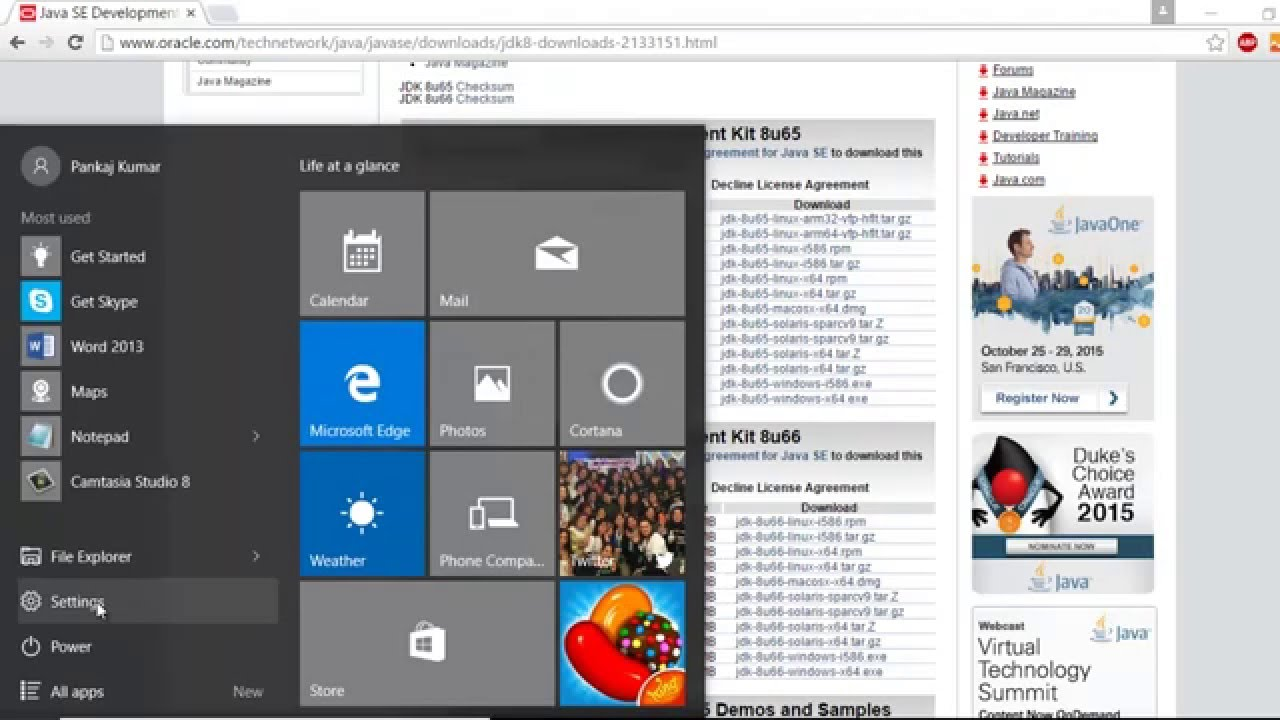 java free download for windows 10 pro 64 bit