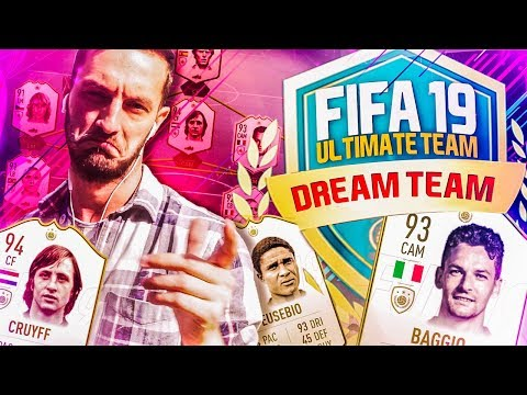 FULL *NEW* ICONS SQUAD!   FIFA 19 ULTIMATE TEAM GAMEPLAY