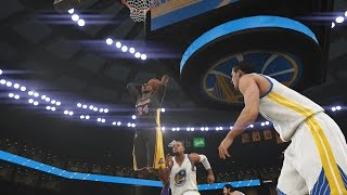 NBA 2K15 Los Angeles Lakers Vs Golden State Warriors 01-11-2014